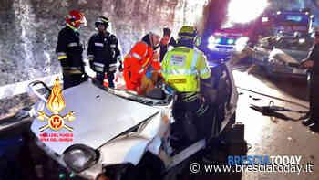 Limone sul Garda: incidente prima della galleria, 9 feriti e strada chiusa - BresciaToday