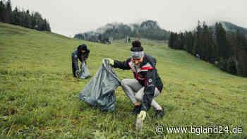 Was macht ein Autoreifen im Wald? Snowboard-Stars sammeln Müll am Jenner - bgland24.de