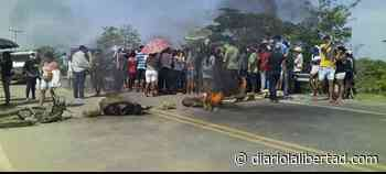 Habitantes de Sitionuevo bloquearon vía la Prosperidad en protesta por no recibir ayudas humanitarias - Diario La Libertad