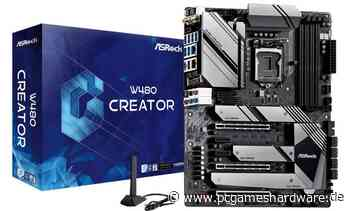 Asrock W480 Creator: Für Comet-Lake-Xeons mit zehn Kernen - PC Games Hardware