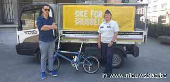 Jettenaar krijgt gestolen fiets terug van politiezone West - Het Nieuwsblad