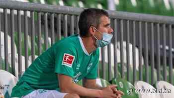 """Werder Bremen: Comeback-Oldie Fin Bartels: """"Tank leer nach 60 Minuten"""" - BILD"""