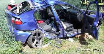 Autofahrer kommt von Straße ab: Ein Toter und drei Verletzte bei Brakel - Neue Westfälische