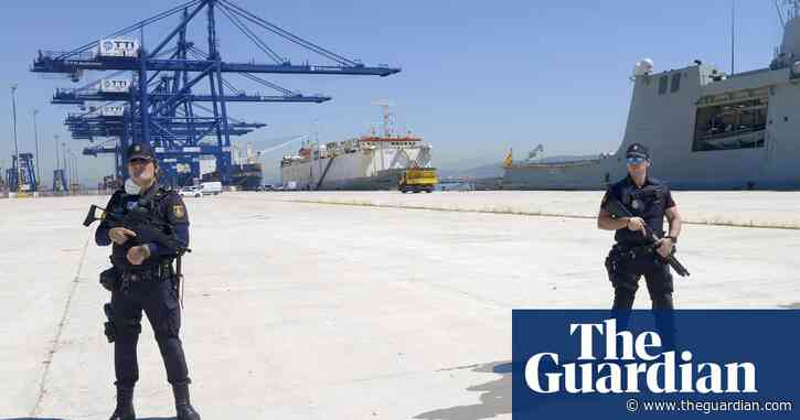 'It was hell': Spanish cocaine raid adds to shipboard misery for 4,000 cows