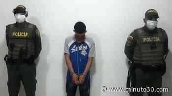 Capturan en flagrancia a un hombre en el municipio de Carepa, Antioquia - Minuto30.com