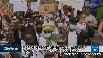 March against systemic racism in Quebec city - CityNews Montreal