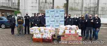 Penitenciária de Charqueadas promove ação social de doação de alimentos - Clic Camaquã - Portal de Notícias