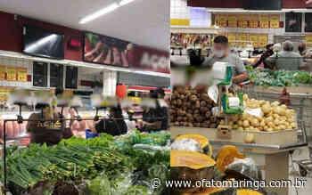 Dois supermercados de Mandaguari são multados por não cumprirem regras de enfrentamento à pandemia - O FATO MARINGÁ - AGÊNCIA DE NOTÍCIAS ONLINE