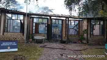 Sede de secretaria de Vinhedo é destruída por incêndio - ACidade ON