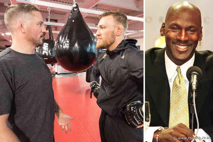 Conor McGregor's coach hints at UFC return – and compares his retirement to Michael Jordan