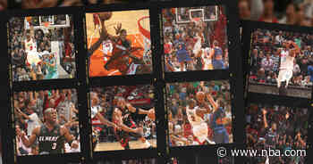Relive Wade's Most Iconic Games