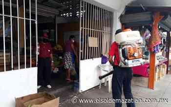 Refuerzan inspección en mercado y zonas de comercio de Villa Unión - El Sol de Mazatlán