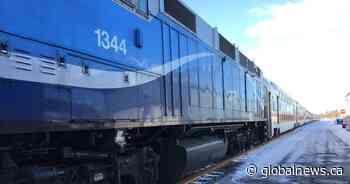 Exo's Candiac train line back up and running after dismantlement of Kahnawake rail blockade - Globalnews.ca
