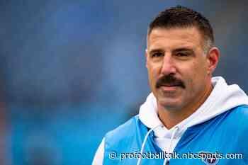 Titans coaches return to team facility