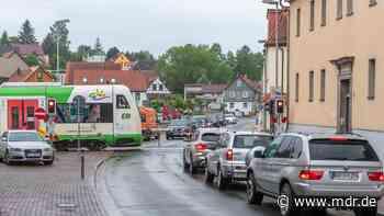 Sperrungen wegen Arbeiten an Bahnübergängen in Bad Berka - MDR