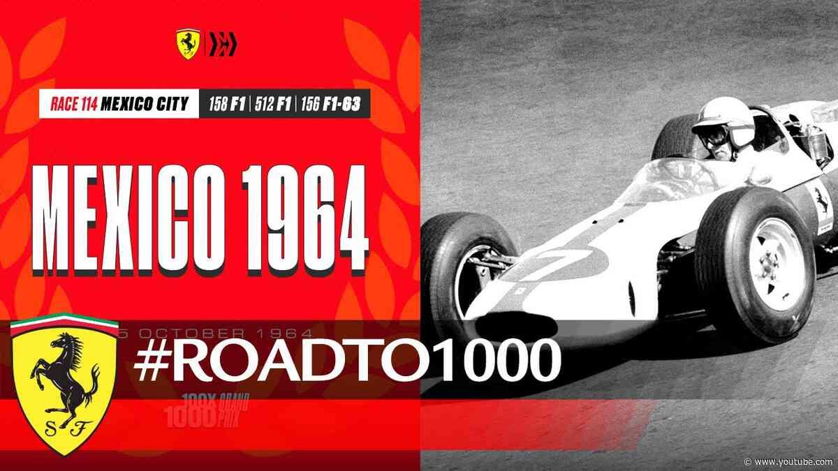 #RoadTo1000 - Mexican GP 1964