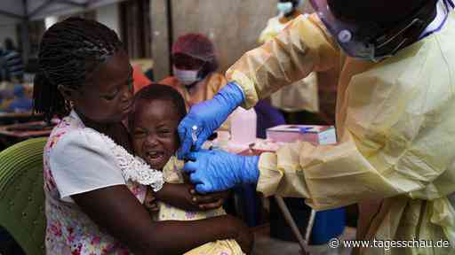 Inmitten der Corona-Pandemie: Kongo meldet neuen Ebola-Ausbruch - tagesschau.de