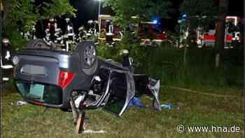 Unfall in Haina (Waldeck-Frankenberg): Zwei Personen schwer verletzt | Hessen - hna.de