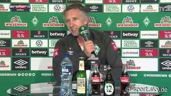 Werder Bremen: Frank Baumann kontert Aussagen von Oliver Glasner - VIDEO - Sky Sport