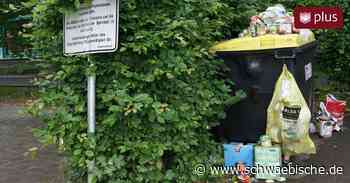 Wilder Müll in Meckenbeuren - Schwäbische - Schwäbische