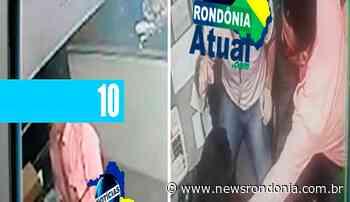 HOMEM UTILIZA UNIFORME DA EUCATUR PARA ASSALTAR AGENCIA EM JI-PARANA (VÍDEO) - Jornal Eletronico News Rondonia - NewsRondônia