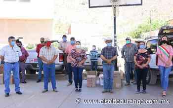 Reciben apoyo familias de Panuco de Coronado - El Sol de Durango