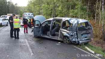 Holm-Seppensen: 2 Schwerverletzte bei Caddy-Crash - BILD