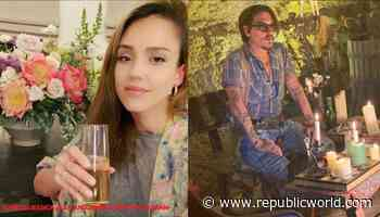 Jessica Alba to Johnny Depp; how Hollywood actors spent their weekend - Republic World - Republic World