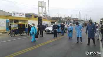 La Libertad: Trabajadores de centro de salud toman la Panamericana Norte en protesta por falta de equipos de protección - RPP