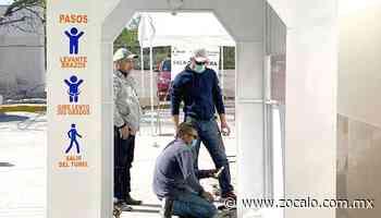 Instalarán dos cabinas sanitizantes en Allende [Coahuila] - 08/06/2020   Periódico Zócalo - Periódico Zócalo