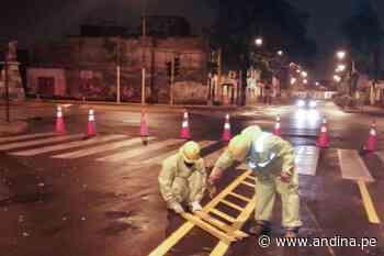 Inician implementación de ciclovías en avenidas Francisco Pizarro y Túpac Amaru - Agencia Andina