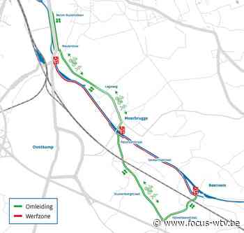 Jaagpad tussen Beernem en Oostkamp wordt vernieuwd - Focus en WTV