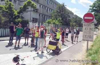 Privas - Les cyclistes veulent être entendus - Hebdo de l'Ardèche
