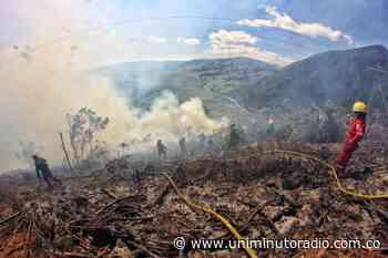 Incendios amenazan el Páramo de Pisba, Boyacá - UNIMINUTO Radio