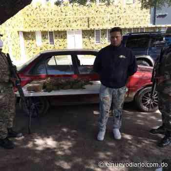 Ejército apresa a dos hombres en Las Matas de Farfán y ocupa siete pacas de presunta marihuana - El Nuevo Diario (República Dominicana)
