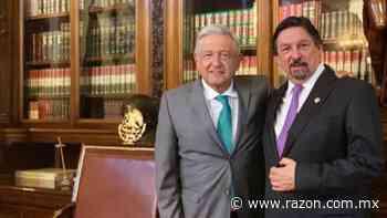 AMLO y Gomez Urrutia se reunen en Palacio Nacional - La Razon