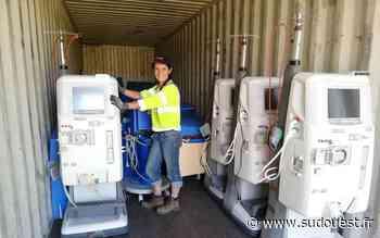 Latresne (33) : un conteneur de matériel médical à destination de la Côte d'Ivoire - Sud Ouest