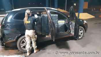 PRF apreende veículo com grande quantidade de equipamentos eletrônicos em Terra Roxa - O Presente
