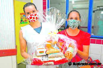 Kits de alimentação escolar são distribuídos em Terra Roxa - Umuarama Ilustrado