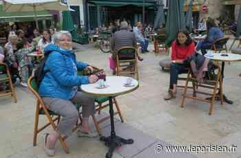 À Lagny-sur-Marne, les terrasses ont investi la place de la Fontaine - Le Parisien