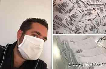 Lagny-sur-Marne : le spécialiste des parades de Noël s'est reconverti dans les masques - Le Parisien