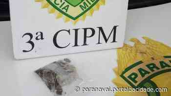 Homem esconde maconha na boca durante abordagem policial em Loanda - ® Portal da Cidade | Paranavaí