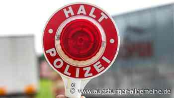 18-Jähriger liefert sich Verfolgungsjagd mit der Polizei - Augsburger Allgemeine