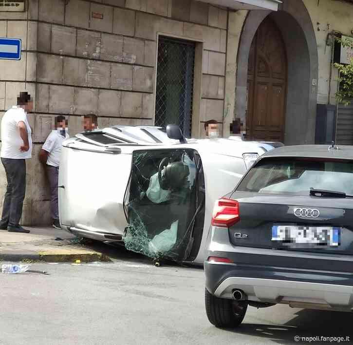 Incidente stradale ad Afragola: bambino di 5 anni finisce in ospedale - Napoli Fanpage.it
