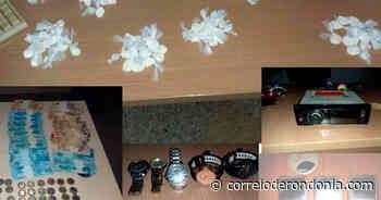 Polícia Militar desarticula local de refino de drogas em Ariquemes - Correio de Rondônia