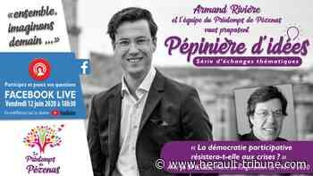 LE PRINTEMPS DE PEZENAS - Atelier-visio : « La démocratie participative résistera-t-elle aux crises ? » - Hérault-Tribune