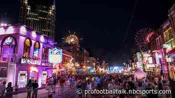Nashville would like to host 2024 or 2025 NFL Draft
