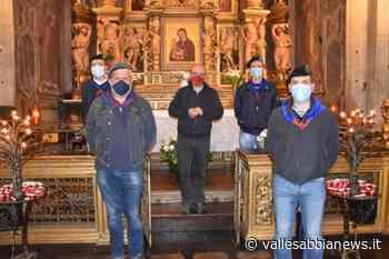 Bagolino - Fedeli in chiesa, fanti e alpini per la sicurezza sanitaria - Valle Sabbia News