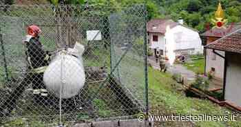Cividale del Friuli, messa in sicurezza bombola Gpl - TRIESTEALLNEWS