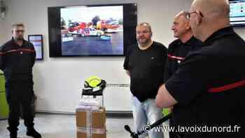 Hautmont: un commerçant fait un don aux anciens pompiers de l'Avesnois - La Voix du Nord